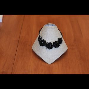 Jewelry - Elegant black Swarovski crystal necklace 18""